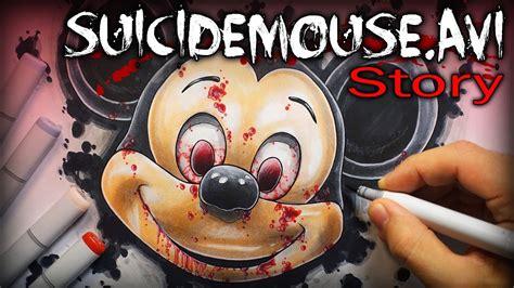 suicidemouseavi story creepypasta drawing youtube