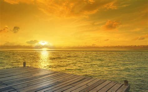 beach sunrise horizon wallpapers hd wallpapers id