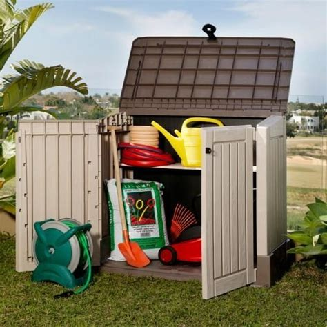 keter woodland storage shed dimensions keter mini store it out woodland 30 plastic garden storage