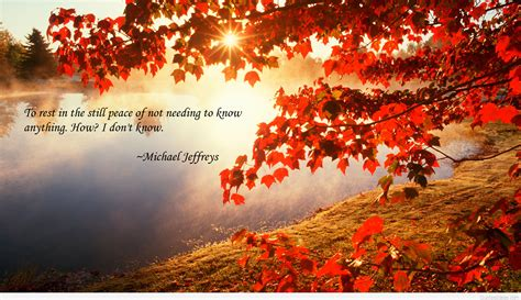 sayings autumn quote