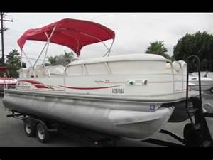 Party Barge Pontoon Boat 2005 - YouTube