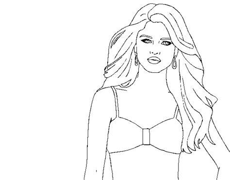 Selena Gomez Coloring Page - Democraciaejustica