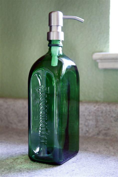 jagermeister liquor bottle soap dispenser custom