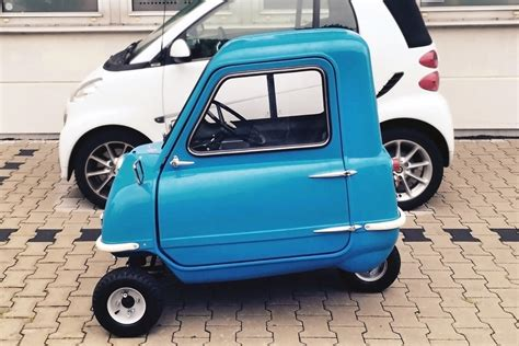 Six-Figure Three-Wheeler: 1963 Peel P50