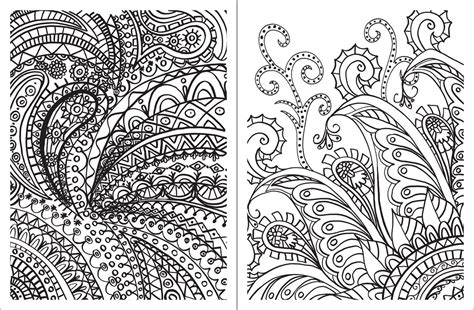 posh adult coloring book paisley designs  fun relaxation