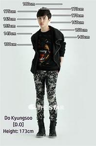 Ear Time Chart Height Chart D O Exo Kyungsoo Suho