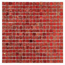 Solistone Micro Folia Glass Hawthorn Red 1134 In X 113