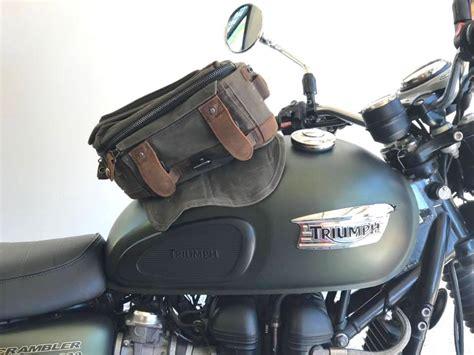 Burly Tank Bag Adds Flexible Style