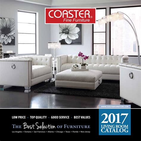 Coaster Furniture Florida by 2017 Coaster Living Room Catalog By Seaboard Bedding And