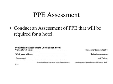 General Industry Ppe 2014