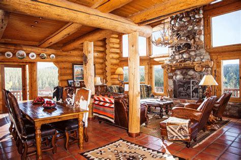 interior design tips   classic log home makeover
