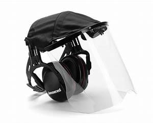 Casque De Protection Auditive : protection auditive avec visi re en perspex protection de la t te ~ Melissatoandfro.com Idées de Décoration