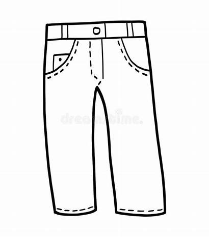 Jeans Coloring Colorear Pantalon Vestir Kolorowanka Fototapeta