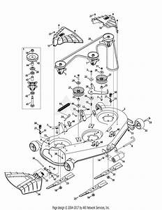 Troy Bilt 13wqa2kq011 Super Bronco 50  2015  Parts Diagram For Mower Deck 50