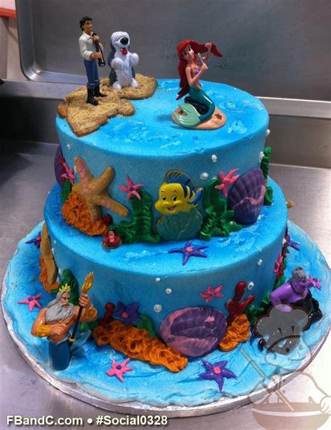 social   mermaid cake  tier buttercream