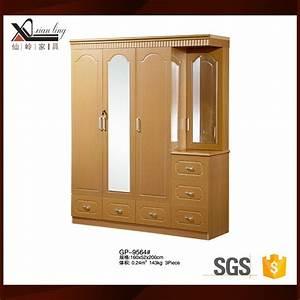 Simple Wood Almirah Design Wardrobe Closet Ideas