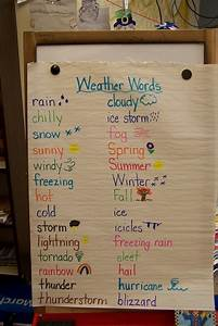 How To Make A Weather Chart For Classroom Chart Paper In The Classroom Google Search Science