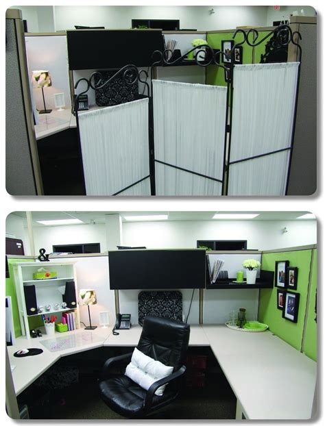 Ideas Your Office Cubicle by Use A Room Divider To Create Some Semblance Of Privacy