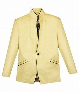 Civvies Beige Cotton Velvet Solid Blazer And T Shirt Set ...