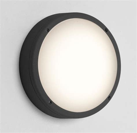 astro arta 275 ip54 outdoor wall light black opal polycarbonate diffuser 7122 from