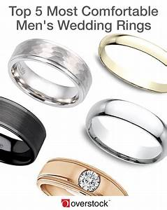 Top 5 most comfortable men39s wedding rings overstockcom for Most comfortable mens wedding rings