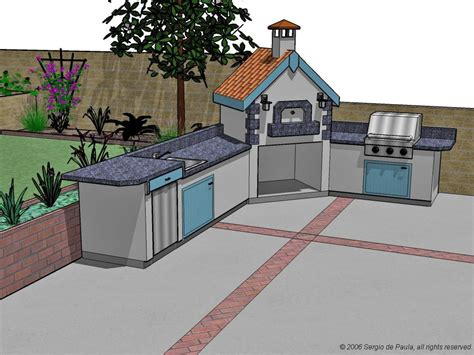 designs for outdoor kitchens options for an affordable outdoor kitchen hgtv 6677