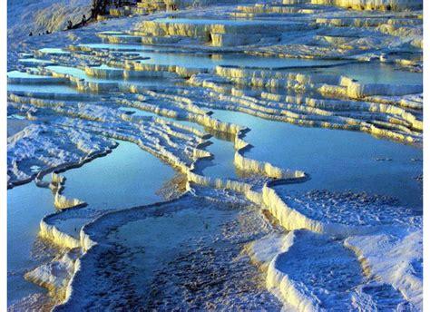 Natural Rock Pools Pamukkale Turkey
