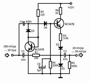 mini audio compressor schematic With audio compressor