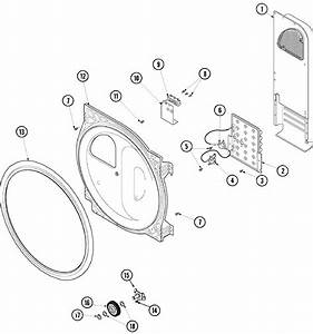 Rear Bulkhead  Air Duct  Heater  U0026 Roller Diagram  U0026 Parts