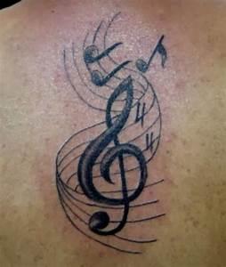 61 Classy Music Shoulder Tattoos