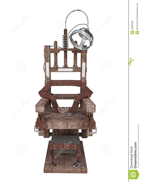 execution chaise electrique electric chair stock illustration image 39682338