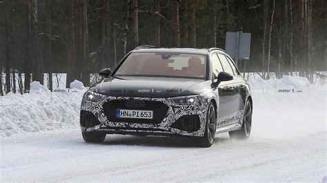 Audi Rs 4 Facelift 2019 Motor Ausstattung by 2020 Audi Rs4 Avant Facelift Photo Motor1 Photos