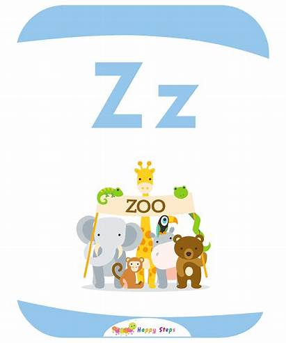 Flashcards Letter Zoo