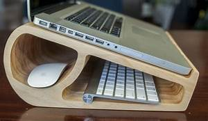 Make a Wooden Laptop Stand Woodworking Project