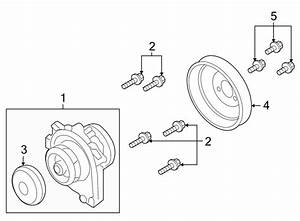 Saturn Astra Engine Water Pump Pulley Bolt