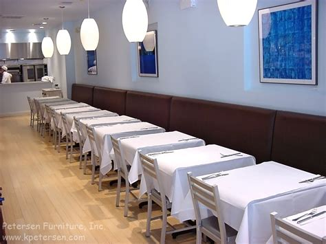 banquette table cuisine restaurantinteriors com bar height restaurant booths