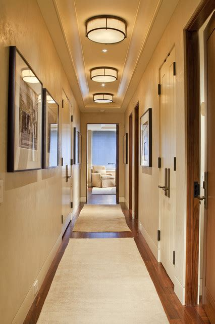 beautiful hallway lighting design ideas