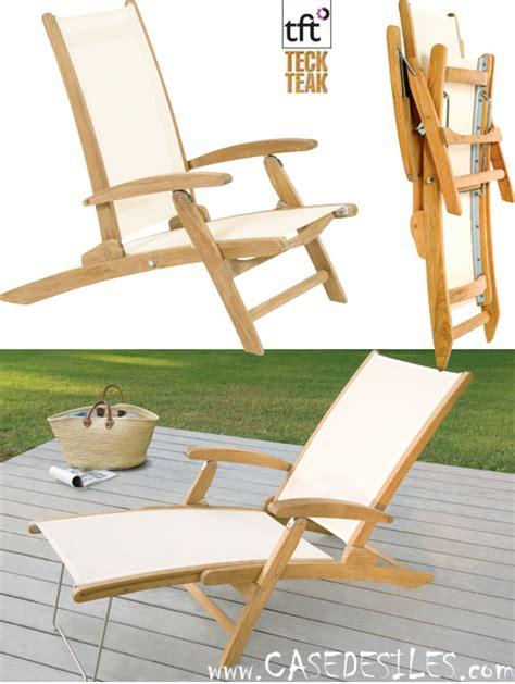 chaise plage pliante chaise de plage teck chaise de plage en teck design