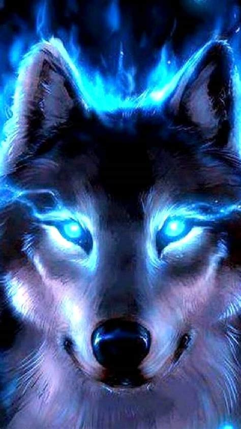 Blue Cool Wolf Wallpaper by Neon Blue Wolf Wallpaper By 4redcyber 3f Free On Zedge