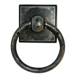 black ring pull cabinet handles alno creations shop a580 dkirn ring pull dark iron