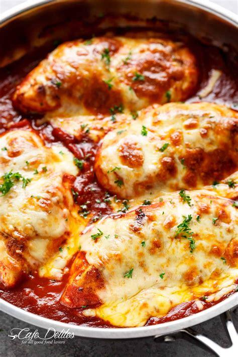 easy mozzarella chicken low carb chicken parma recipe