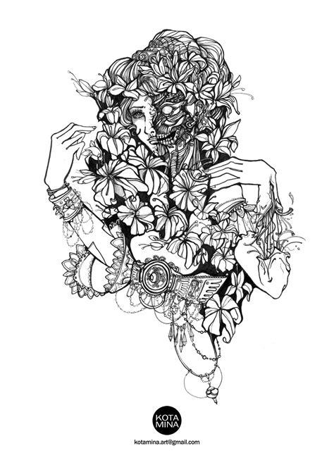 Pin by Inna Bajka on Artworks | Vine tattoos, Black
