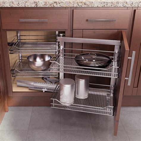 Blind Cabinet Storage Solutions by Vauth Sagel Right Wari Corner Blind Corner System 35