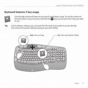 Keyboard Features  F