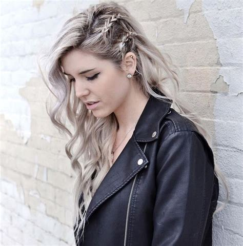 braided hairstyles to the side 35 super cute and easy hairstyles for long haired ladies