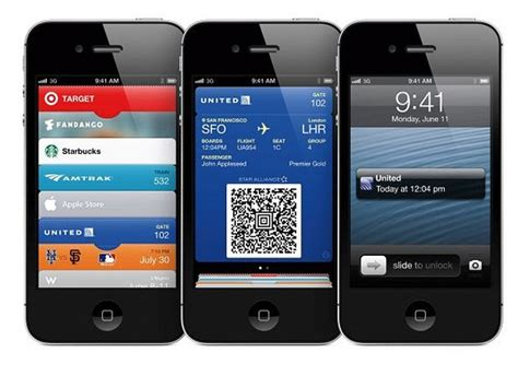 iphone wallet app apple wwdc ios6 passbook app prepares iphone to act as e