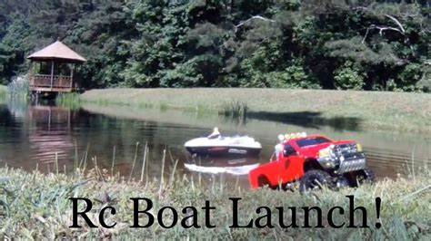 Rc Boat Trailer Launch by Rc Boat Launch Tamiya Ford F350 Highlift Custom Trailer