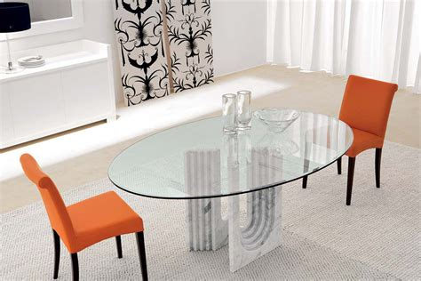 netted glass table l moa oval glass dining table by compar trendy productscouk 3469