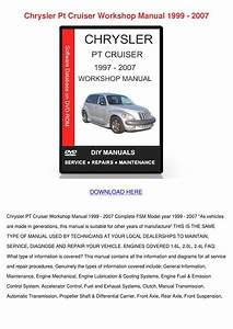 2003 Chrysler Pt Cruiser Repair Manual