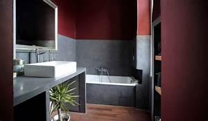 mc beton cire perpignan 66 matieres et couleurs With salle de bain beton cire prix